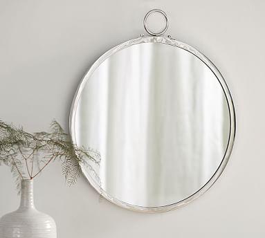 Logan Round Mirror