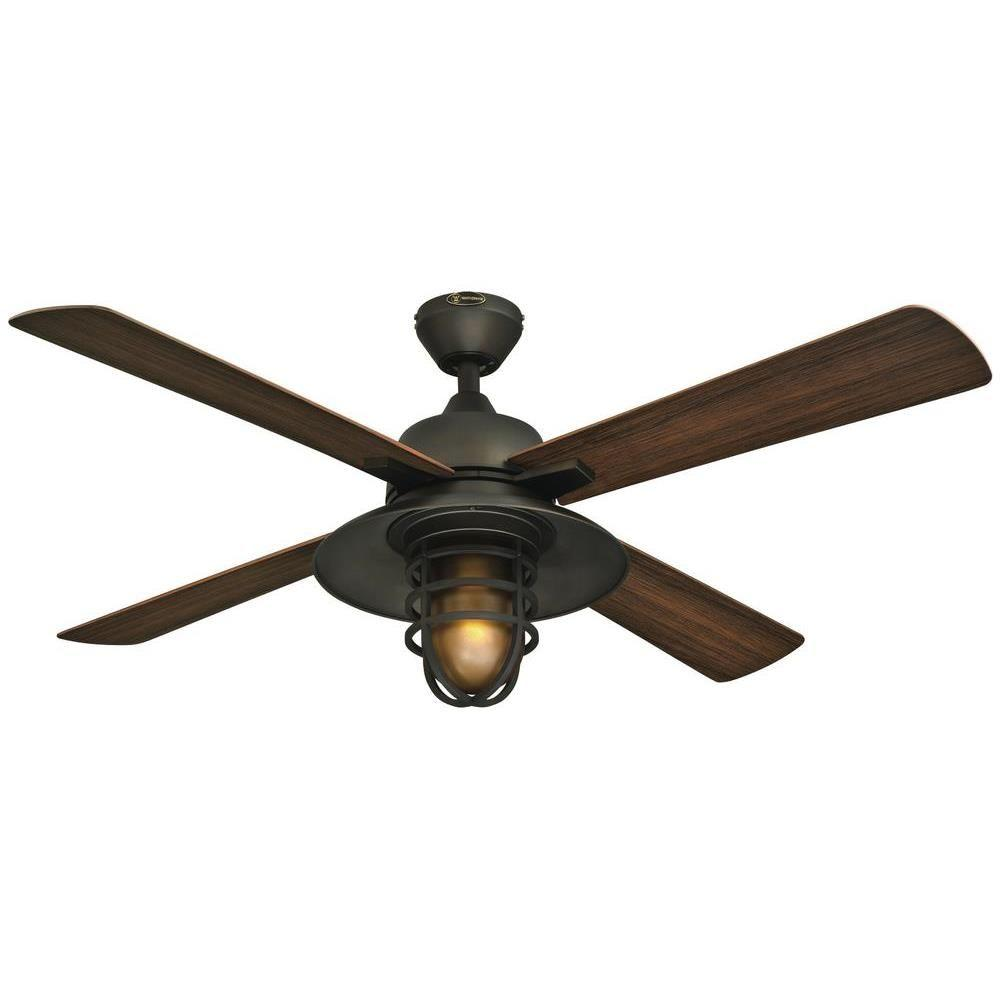 Westinghouse Great Falls 52 in. Indoor/Outdoor Oil-Rubbed Bronze Ceiling Fan
