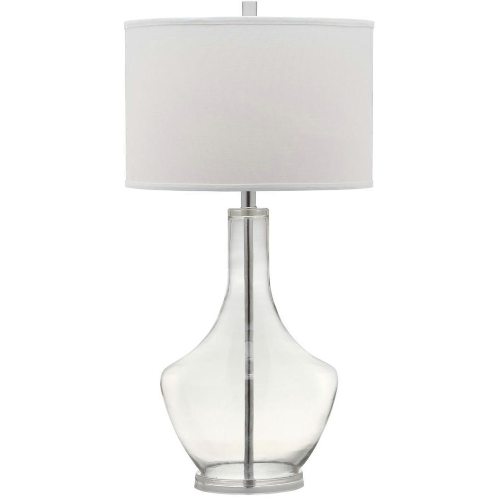 Safavieh Mercury 33 in. Clear Table Lamp