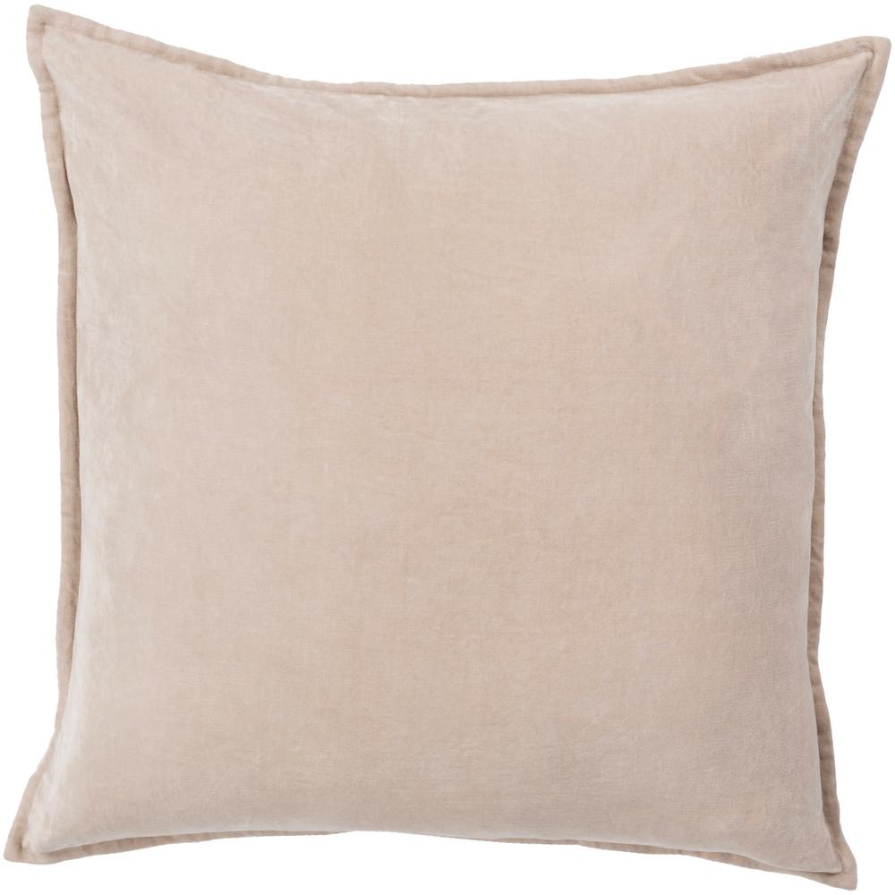 Velizh Poly Euro Pillow, Browns/Tans