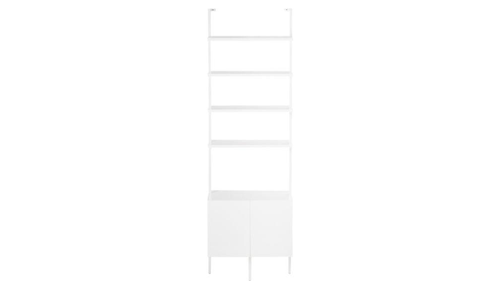 "stairway white 96"" cabinet"