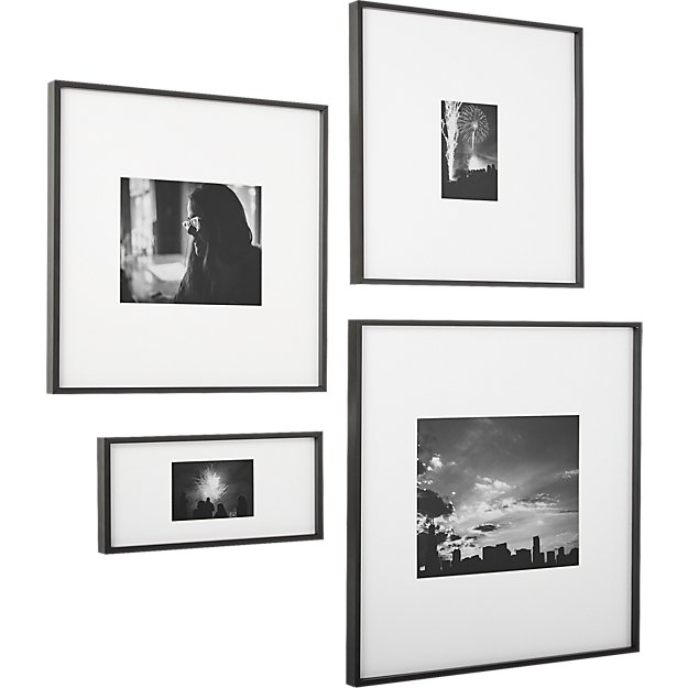 gallery black 5x7 picture frame