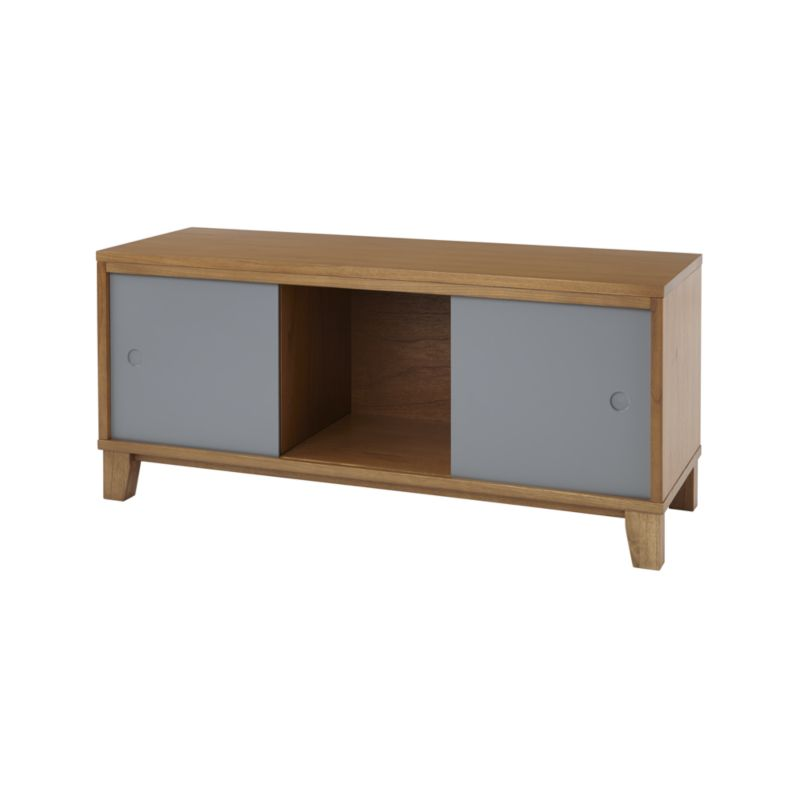 District 3-Cube Wood Stackable Bookcase