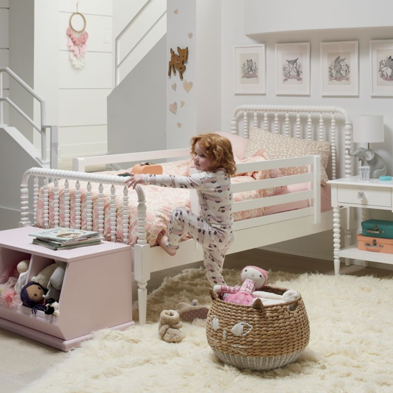 Kids Jenny Lind White Nightstand