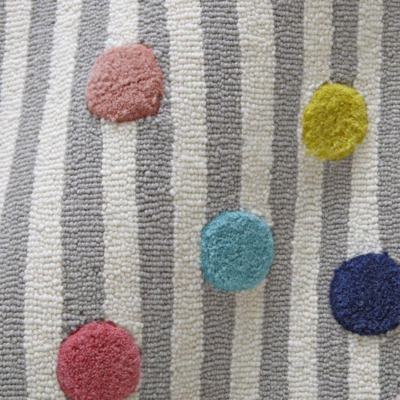 Sprinkles 8x10' Striped Rug
