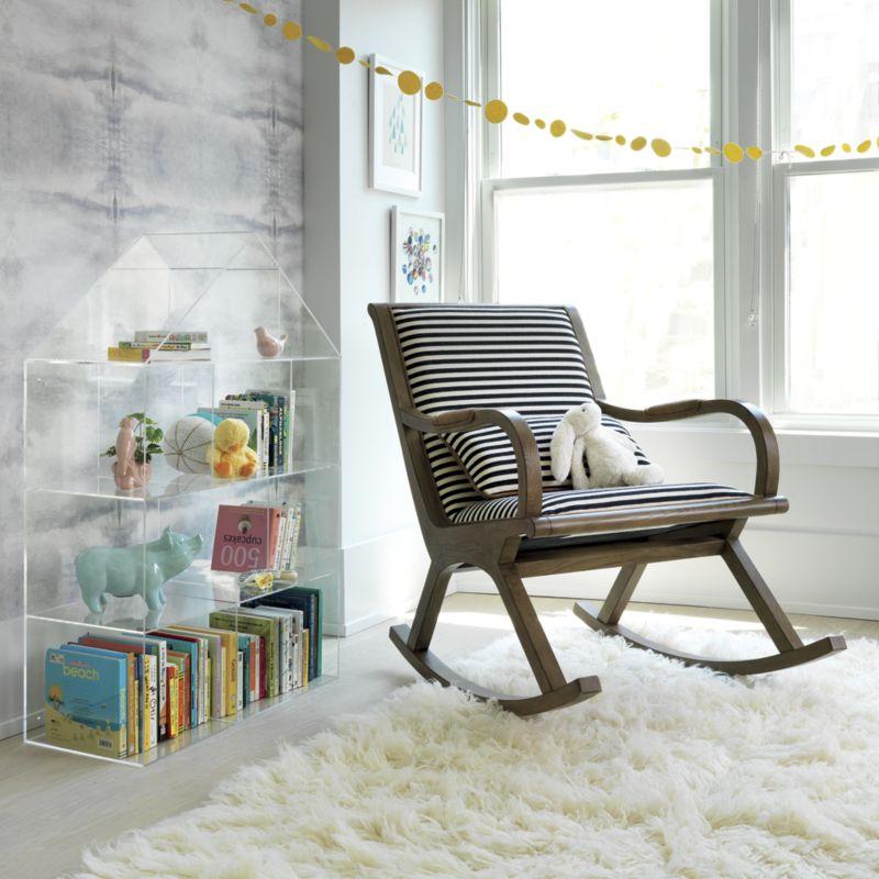 Acrylic House Bookcase