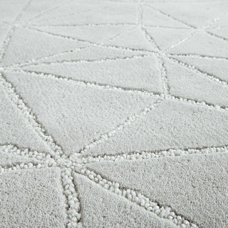 Crystal Mosaic 8 x 10' Grey Rug