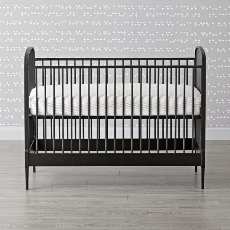 Larkin Black Metal Crib