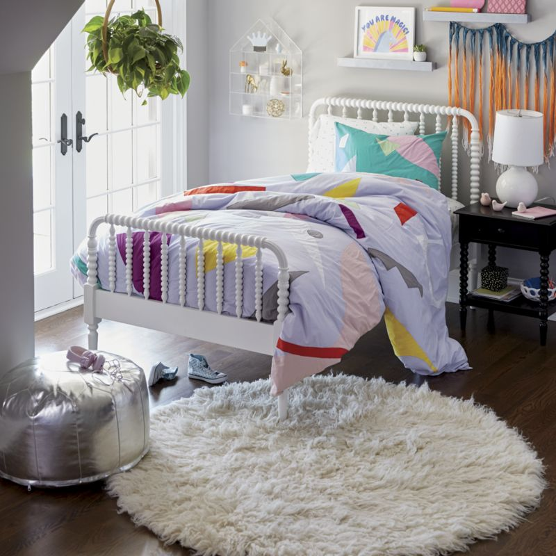 Jenny Lind White Twin Bed