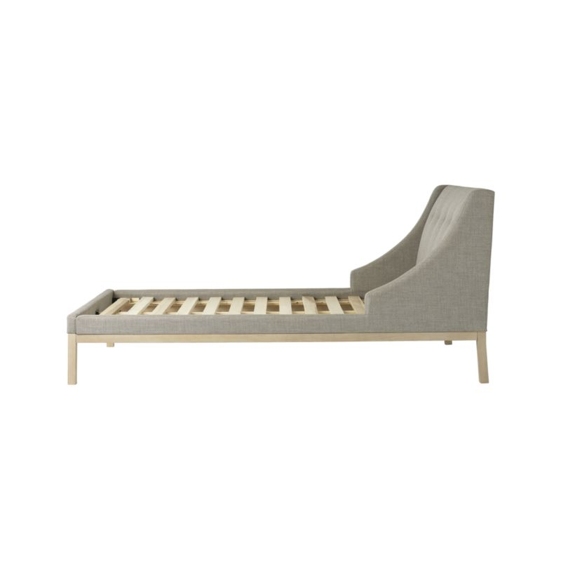 Gallery Grey Twin Wing Bed