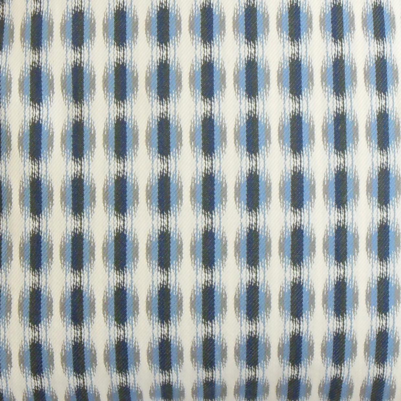 "Italo Geometric Pillow Blue - 18"" x 18"" - Down Insert"