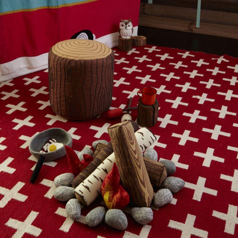 Plush Campfire Set