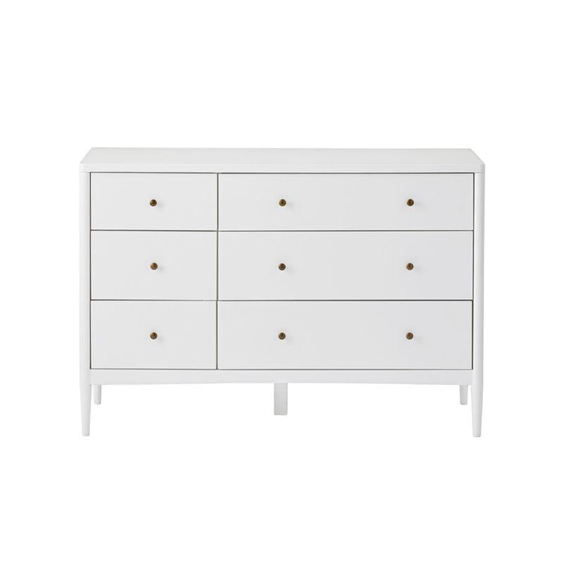Kids Hampshire White 6-Drawer Dresser