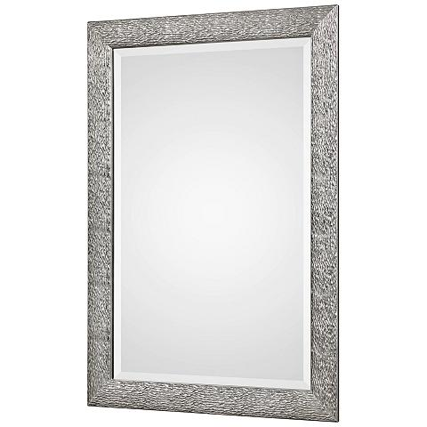 Mossley Metallic Silver Wall Mirror