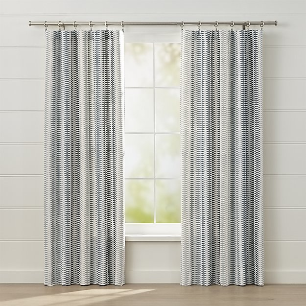 Carmelo Patterned Curtain Panel 50x96
