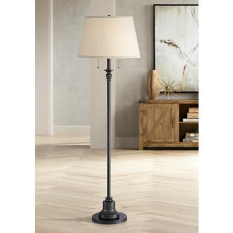 Spenser Oiled Bronze Floor Lamp