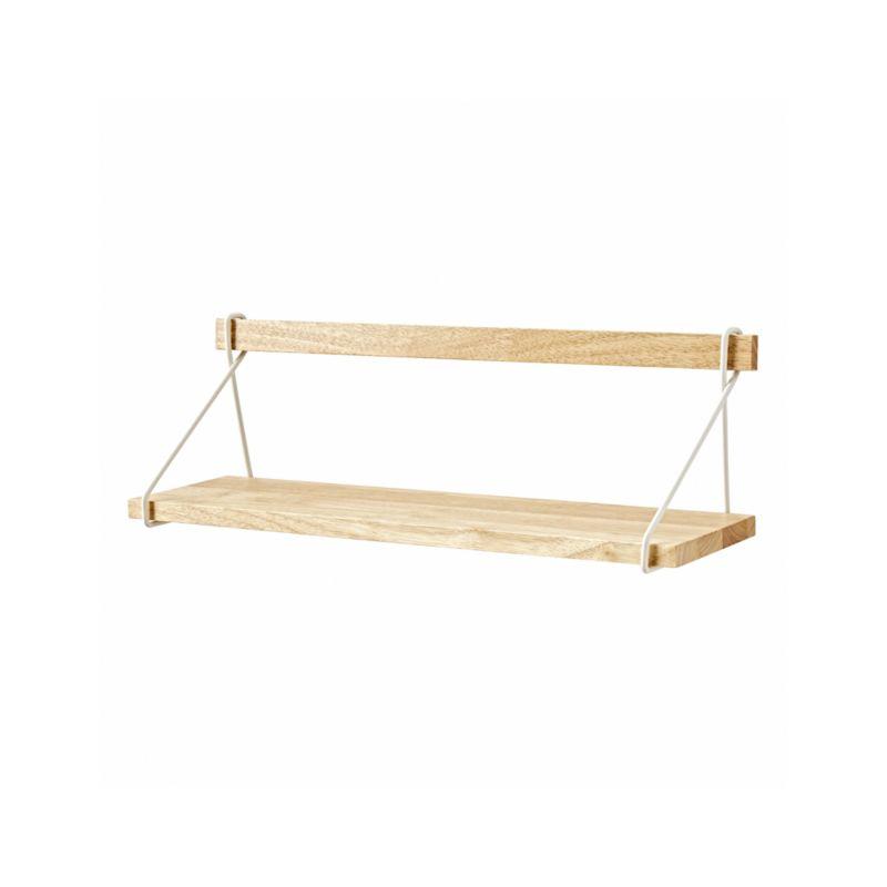 White Suspension Shelf
