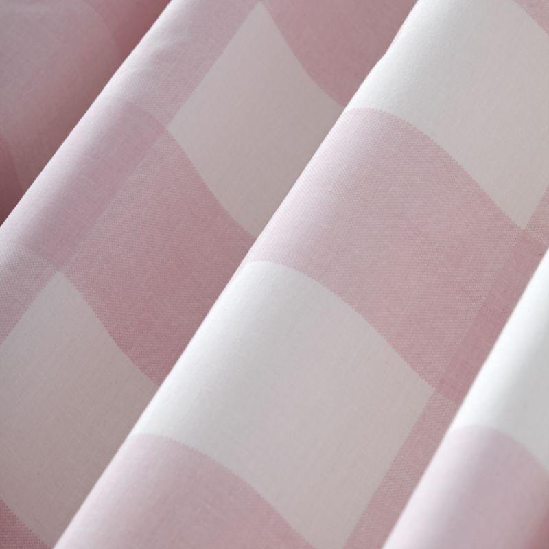 "Pink Buffalo Check 96"" Blackout Curtain"