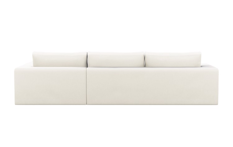 Walters Chaise Sectional in Ivory Fabric