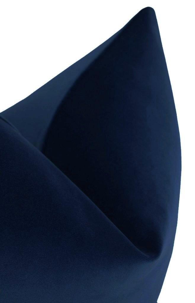 """Signature Velvet // Sapphire - 20"""" X 20"""""""