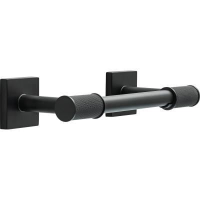 Delta Averland Pivot Arm Toilet Paper Holder in Matte Black