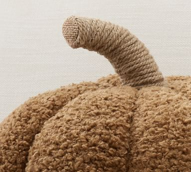 "Cozy Pumpkin Pillow, 9.5 x 14"", Tobacco"