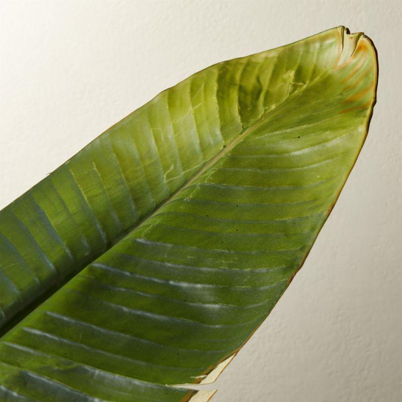 "Faux Banana Leaf 79"""