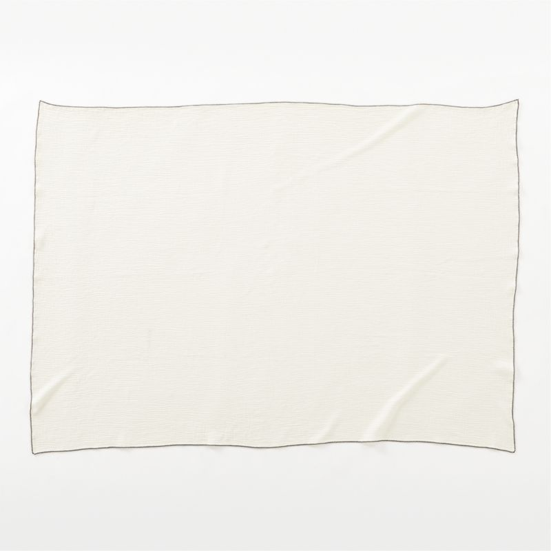 Maeven White Throw