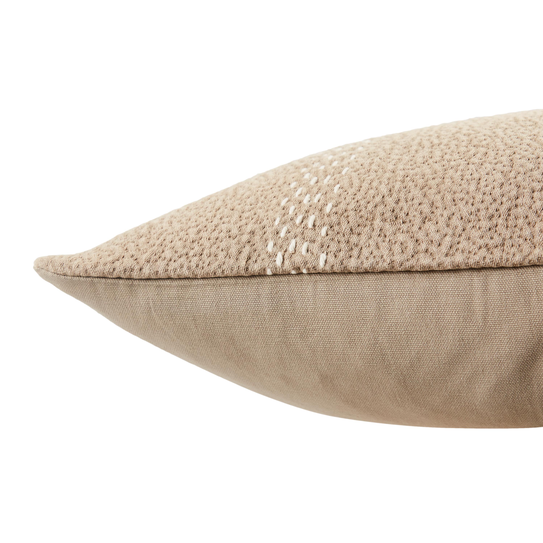 """Design (US) Taupe 20""""X20"""" Pillow"""