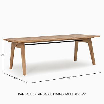 Randall Expandable Dining Table Brushed Oak