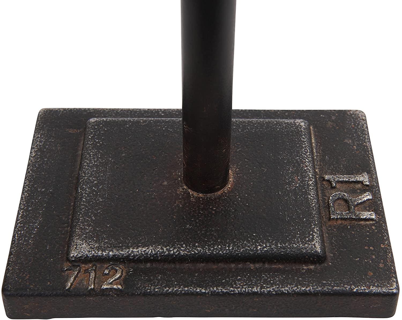 Bronze Arrow Shaped Cast Iron Bookends, Set of 2