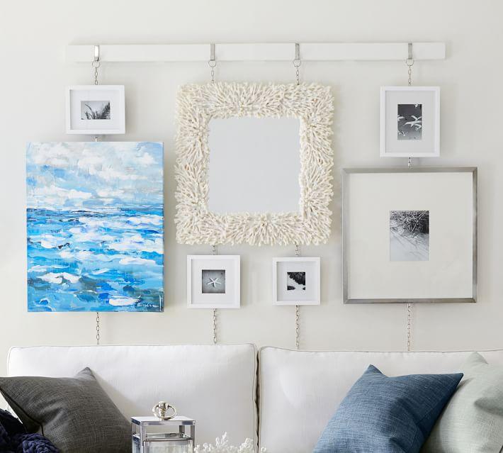 "Wood Gallery, 5"" x 7"", Modern White"