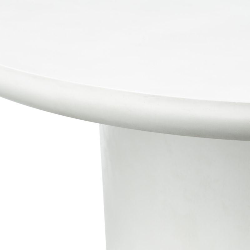 Lola Round Concrete Dining Table