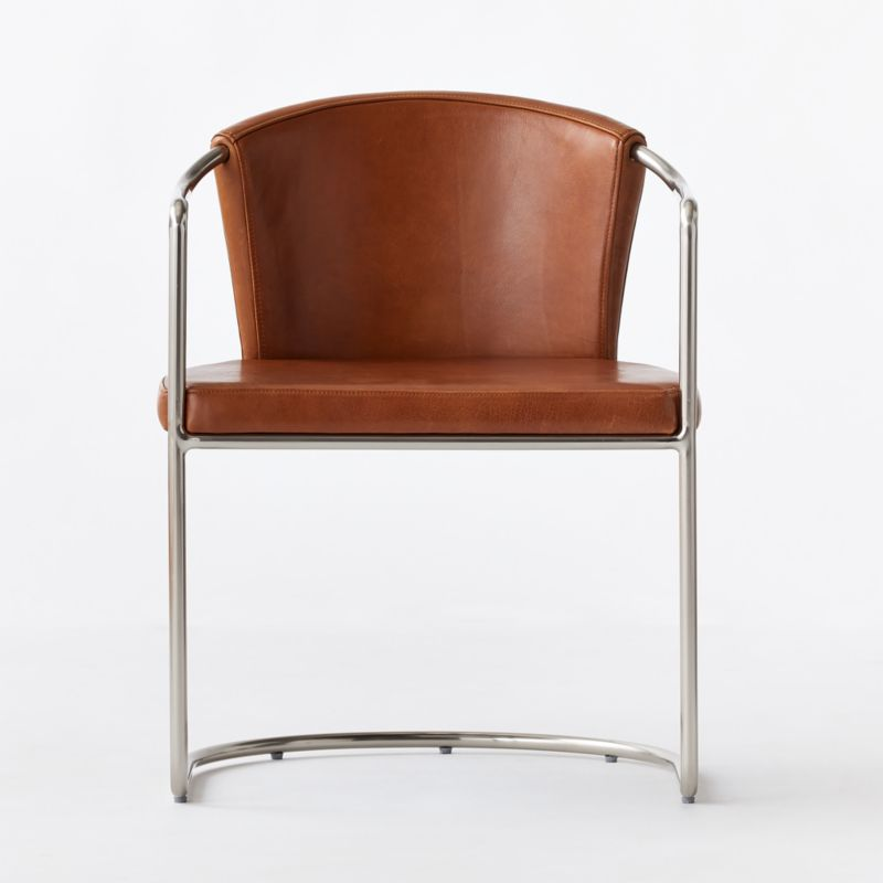 Cleo Saddle Cantilever Chair