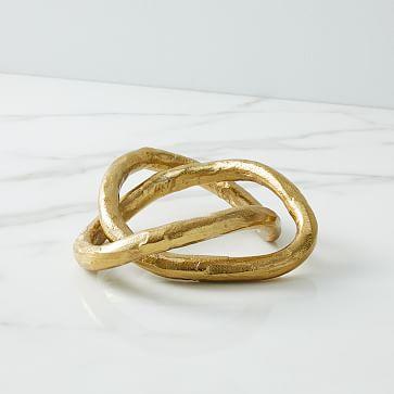 Metal Loop Object, Large, Set of 2