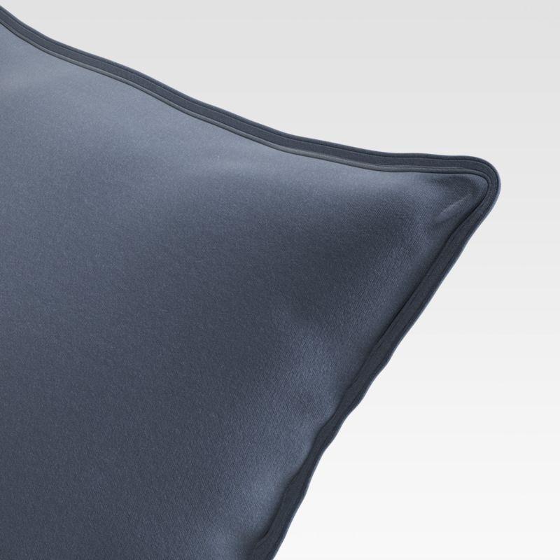 "Sunbrella 20"" Navy Outdoor Pillow"