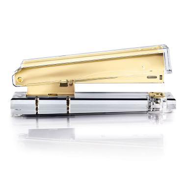 Acrylic Desktop Accessories - Essential Set, Gold