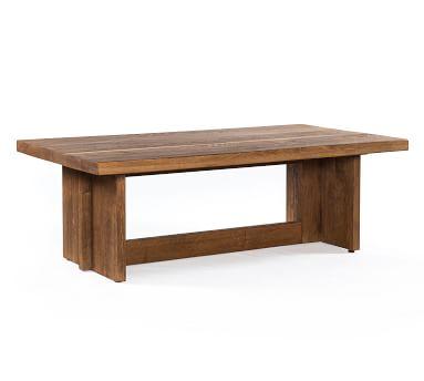 Hearst Coffee Table, Dark Smoked Oak