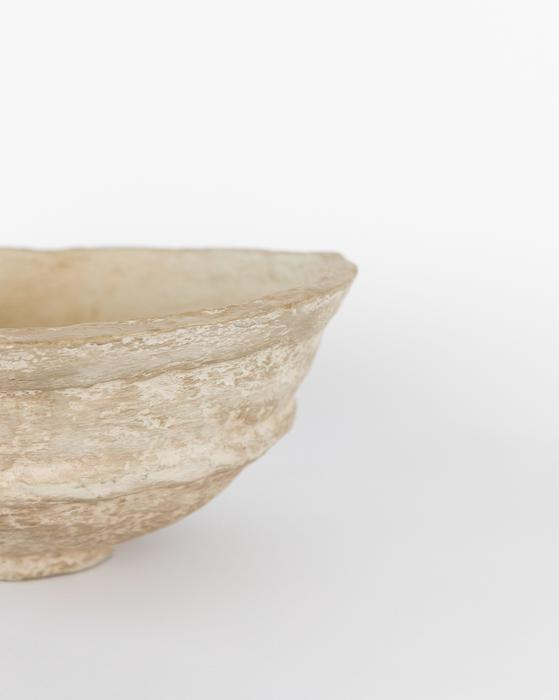 Paper Mache Crafted Bowl, Large