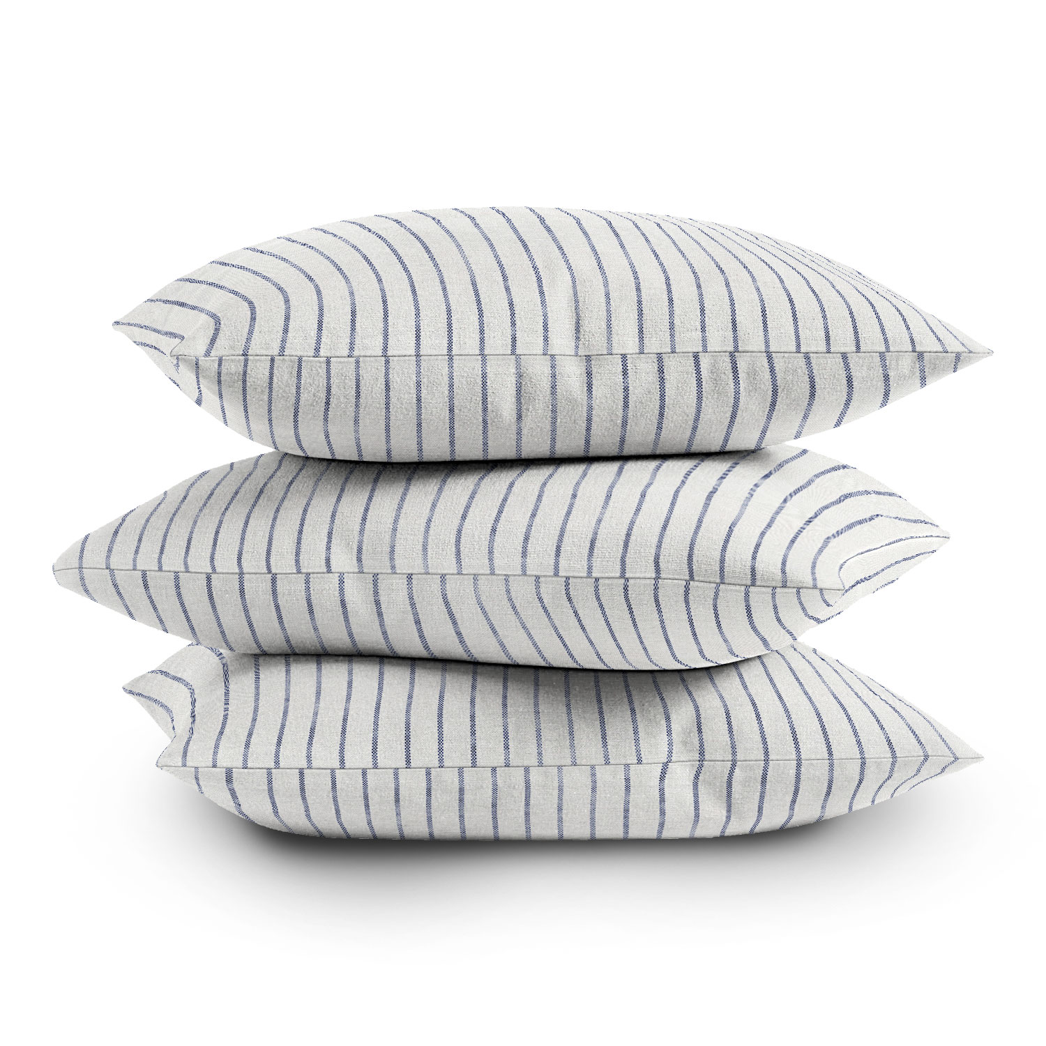 """Aegean Wide Stripe by Holli Zollinger - Outdoor Throw Pillow 20"""" x 20"""""""
