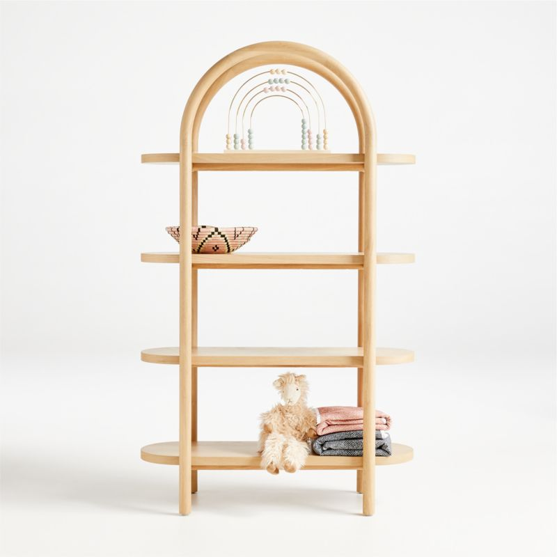 Dolly Natural Tall Bookcase