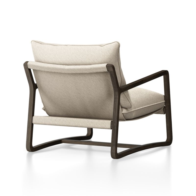 """Polly Ivory Accent Chair 30""""Wx37.5""""Dx34""""H"""