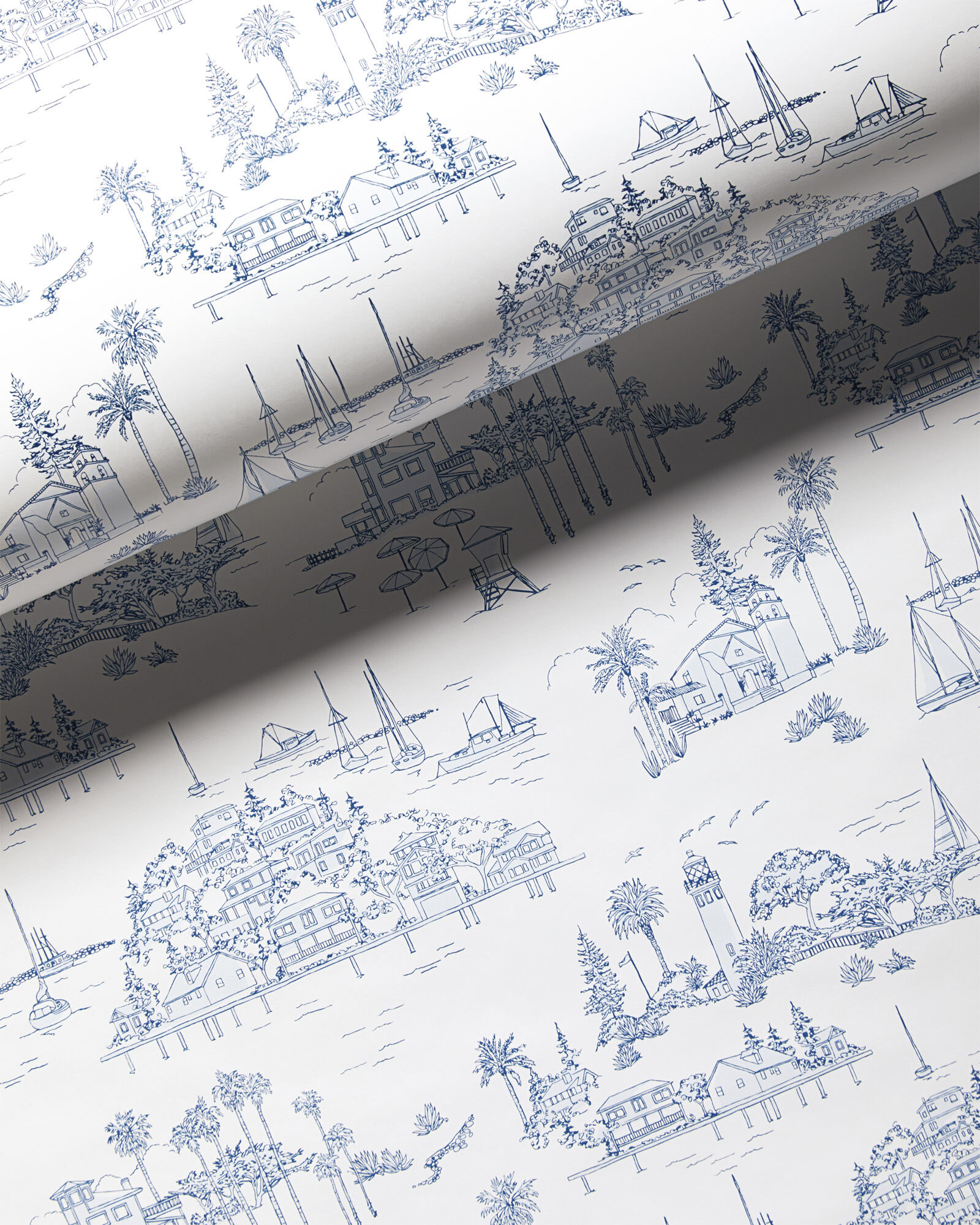 Seahaven Toile Wallpaper