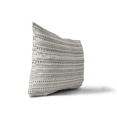 Minerva Cotton Indoor/Outdoor Geometric Lumbar Pillow
