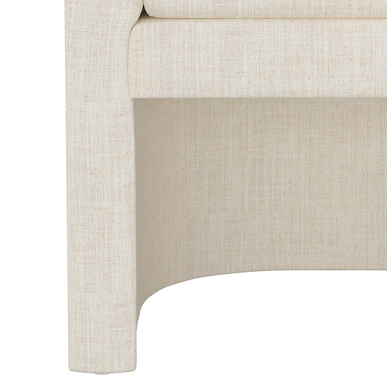 Wellshire Chair, Talc Linen