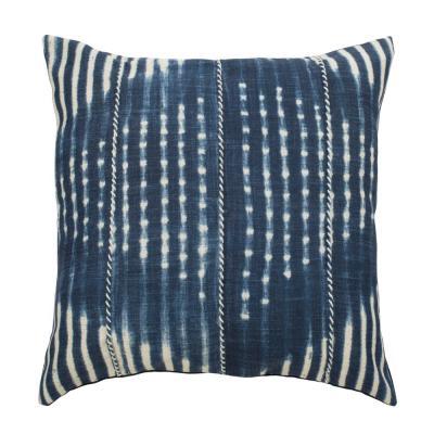 Safavieh Laurena Blue/Cream 16 in. x 16 in. Throw Pillow