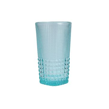 Malcolm Amber Iced Beverage Glass, 15 oz., Set of 6