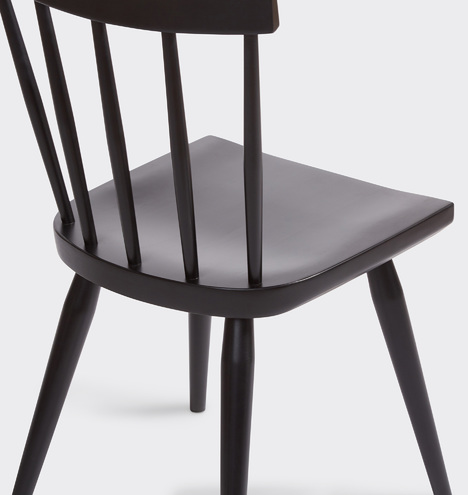 Weatherby Black Ash Side Chair