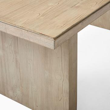 "Santa Rosa Plank Dining Table, 76"", Driftwood"