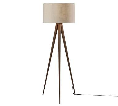 Axson Wood Floor Lamp, Rosewood